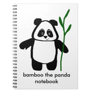 Bamboe het Notitieboekje van de Panda Notitieboek