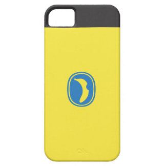 banaan logo barely there iPhone 5 hoesje