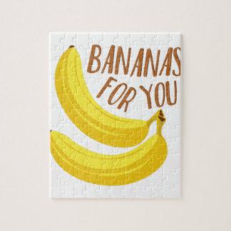 Bananen voor u puzzel