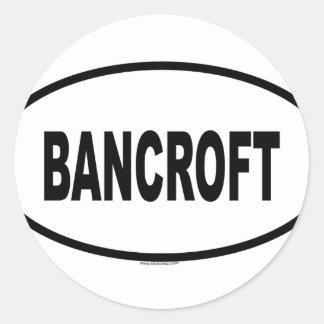 BANCROFT RONDE STICKER