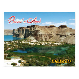 Band-e Amir, Afghanistan Briefkaart