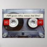 Band van de Cassette van de pret Retro Plaat