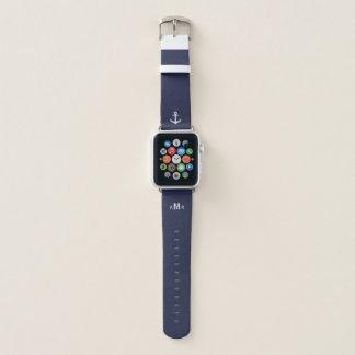 Band van het Horloge van Apple van het Monogram
