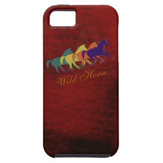 band van wild paarden het lopen tough iPhone 5 hoesje