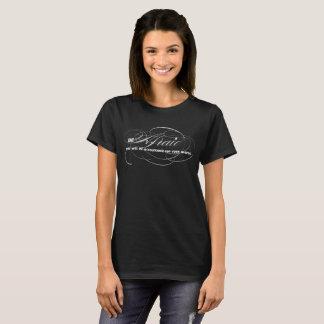 Bang ben, zult u voor Uw Woorden Verantwoordelijk T Shirt