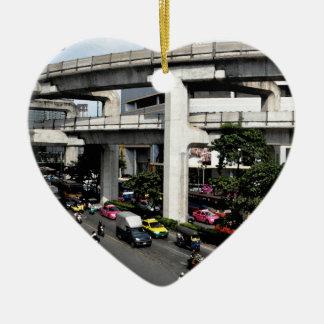Bangkok Keramisch Hart Ornament