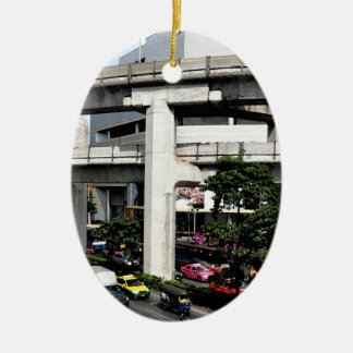 Bangkok Keramisch Ovaal Ornament