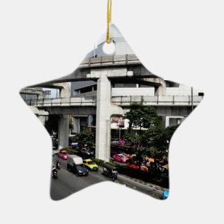 Bangkok Keramisch Ster Ornament