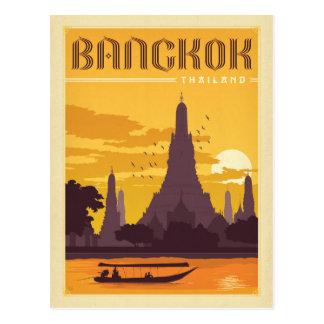 Bangkok, Thailand Briefkaart