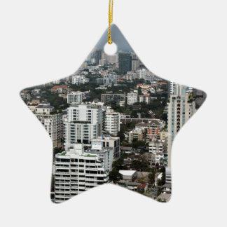 Bangkok Thailand Keramisch Ster Ornament
