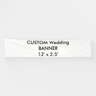 Banner 12 ' x 2.5 ' van het Huwelijk van de douane
