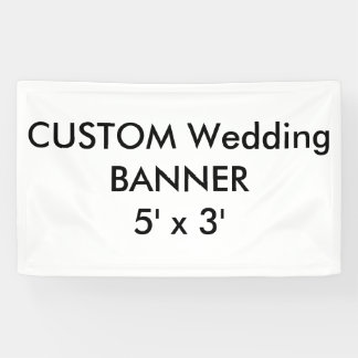 Banner 5 ' x 3 ' van de douane
