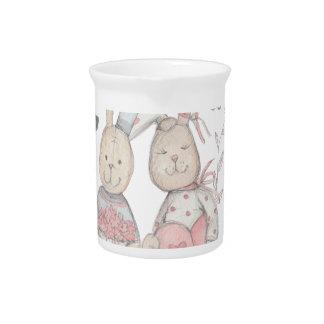 banny konijnpaar 2 pitcher