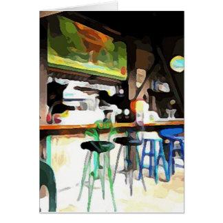 Bar in Key West Kaart