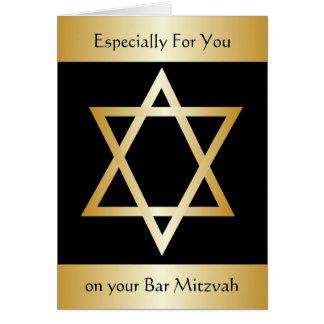 Bar mitswa kaart