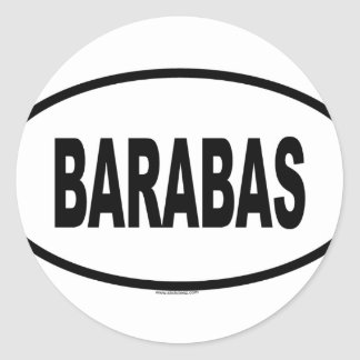 BARABAS RONDE STICKERS