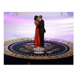 Barack en Michelle Obama Briefkaart