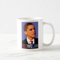 """Barack Obama """"ja kunnen wij"""" overvallen Basic Witte Mok"""