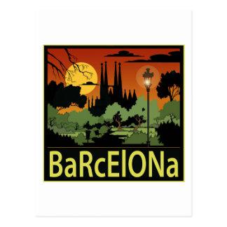 Barcelona Briefkaart