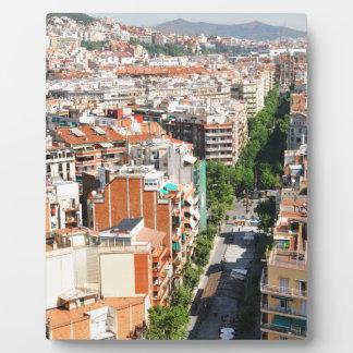 Barcelona Fotoplaat