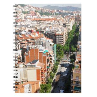 Barcelona Ringband Notitieboek