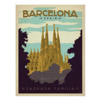 Barcelona, Spanje - Sagrada Familia Briefkaart
