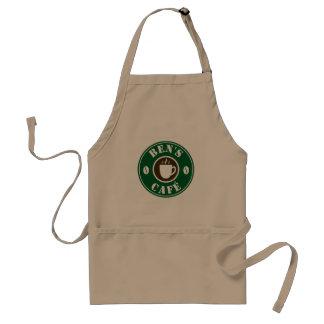 Baristaschort van de douane voor de koffiebar of standaard schort