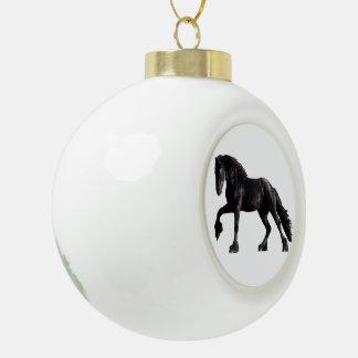 Barok Veulen Keramische Bal Ornament