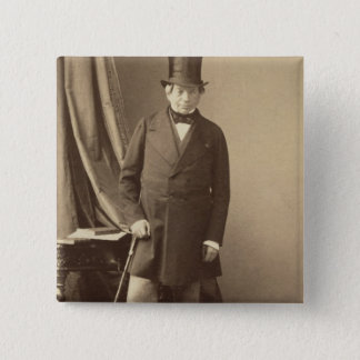 Baron James Rothschild Vierkante Button 5,1 Cm