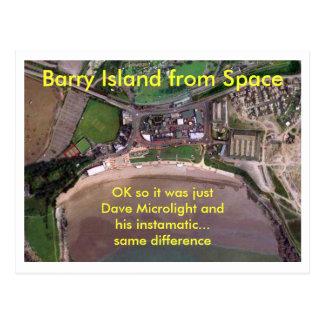 Barry Island van Ruimte Briefkaart