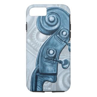 Bas iPhone 7 van de Rol van het Asblok Blauwe iPhone 8/7 Hoesje