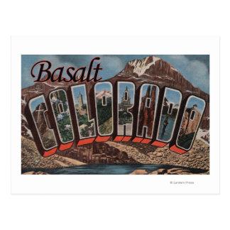 Basalt, Colorado - de Grote Scènes van de Brief Briefkaart