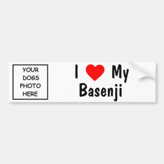 Basenji Bumpersticker