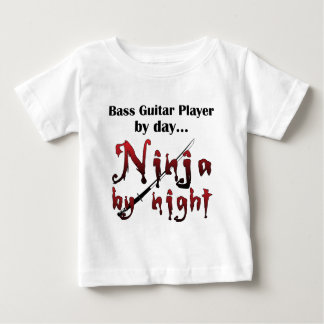 Basgitaar Ninja Baby T Shirts