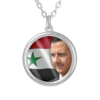 Bashar al-Assad بشارالاسد Zilver Vergulden Ketting