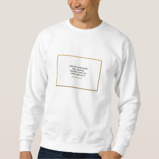 Basis Sweatshirt met Uw Ontwerp