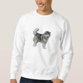 Basis Sweatshirt, Witte honden door highsaltire Trui