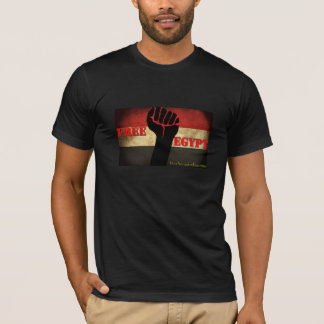 "Basis T-shirt ""Vrij Egypte """