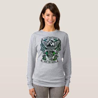 basisLS van vrouwen overhemd-tribune uw T Shirt
