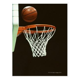 Basketbal 5 briefkaart