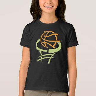 Basketbal en de Netto T-shirt van Meisjes