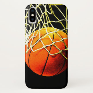 Basketbal iPhone X Hoesje