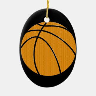 Basketbal Keramisch Ovaal Ornament