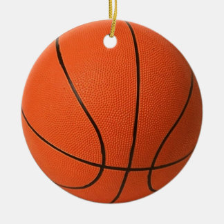 Basketbal Rond Keramisch Ornament