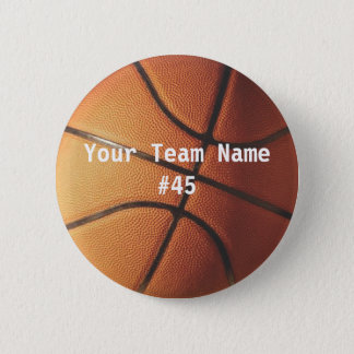 Basketbal Ronde Button 5,7 Cm