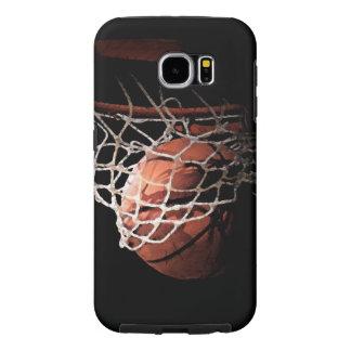 Basketbal Samsung Galaxy S6 Hoesje