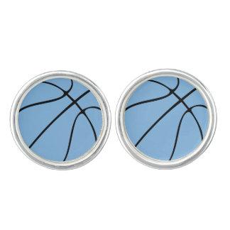 Basketbal van de Douane van Carolina het Blauwe Manchetknopen