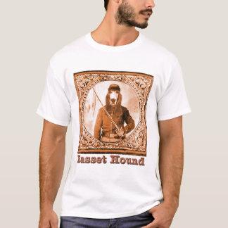 Basset de Parodie van de Burgeroorlog T Shirt