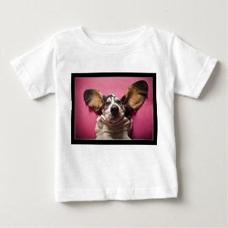 Basset het overhemd van de gezichtsPeuter Baby T Shirts