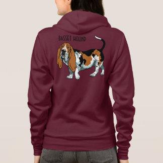 basset hond hoodie